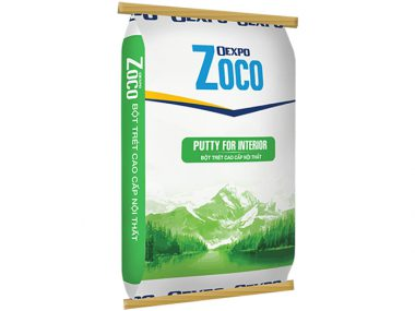 Bột trét cao cấp nội thất - Oexpo Zoco Putty For Interior