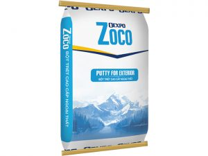 Bột trét ngoại thất cao cấp - Oexpo Zoco Putty For Exterior