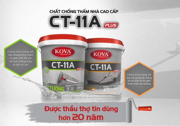 Chất chống thấm cao cấp Kova CT-11A Plus Tường-2