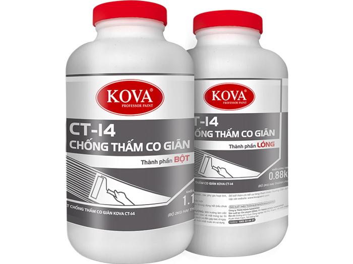 Chất chống thấm co giãn Kova CT-14 (Bộ 2 thành phần)