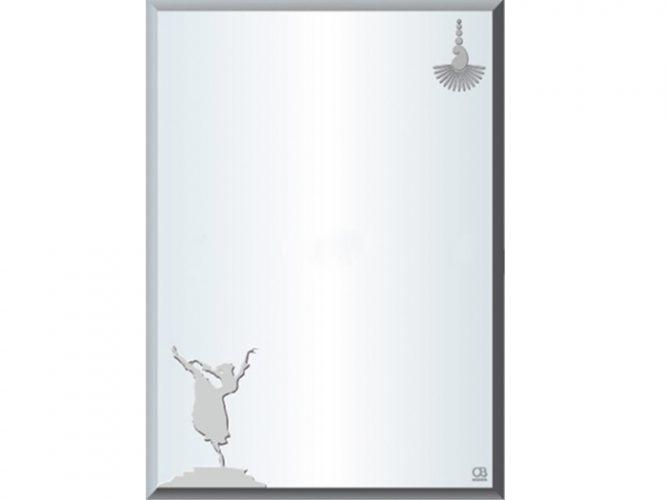 Gương bạc ròng QB Q503