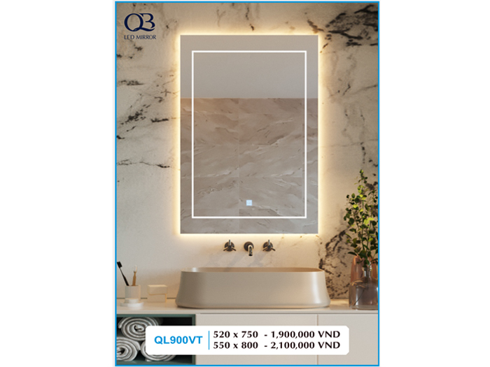 Gương đèn Led QL900VT
