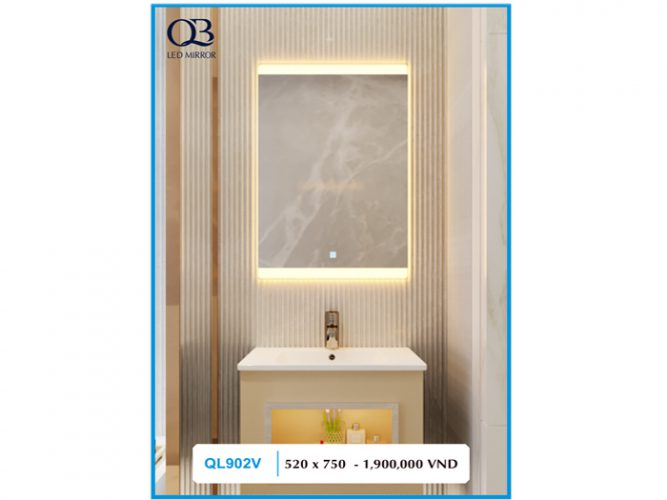 Gương đèn Led QL902V