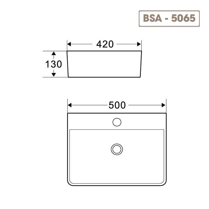 Lavabo BSA-5065-1