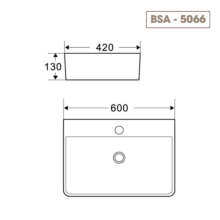 Lavabo BSA-5066-5
