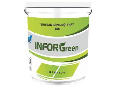 Sơn bán bóng nội thất A68 - Inforgreen