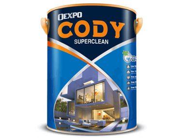 Sơn bóng chống thấm nước Oexpo cody superclean