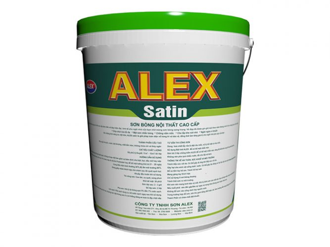 Sơn bóng nội thất ALEX SATIN-1