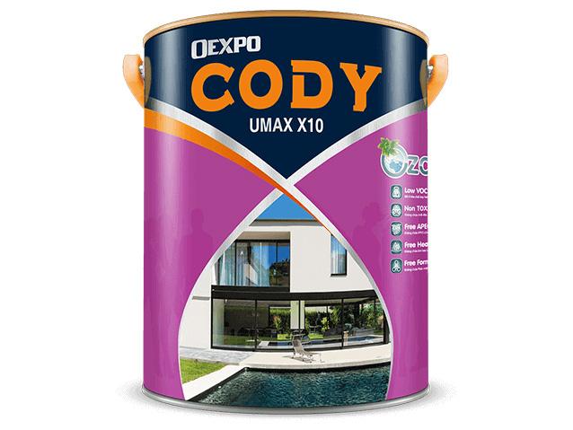 Sơn chống thấm cao cấp Oexpo cody umax X10