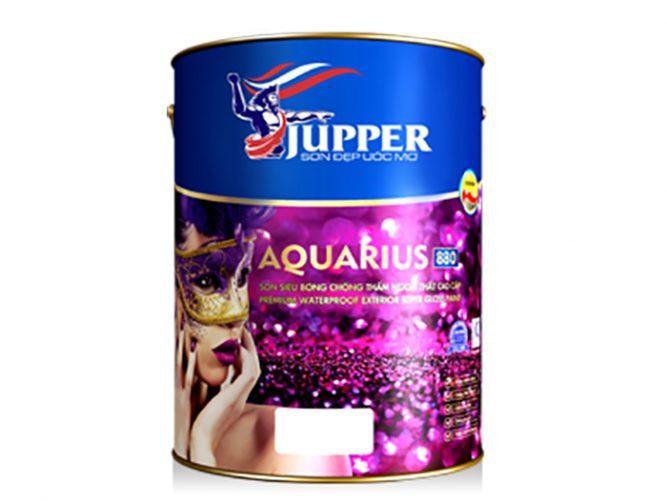 Sơn chống thấm ngoại thất Jupper Aquarius siêu bóng cao cấp