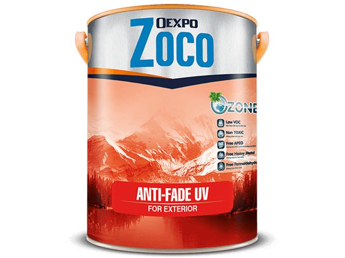 Sơn chống thấm ngoại thất - Oexpo Zoco Anti-Fade Uv For Exterior Cao Cấp