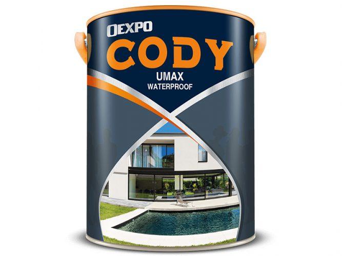 Sơn chống thấm tường Oexpo Cody Umax Waterproof-1