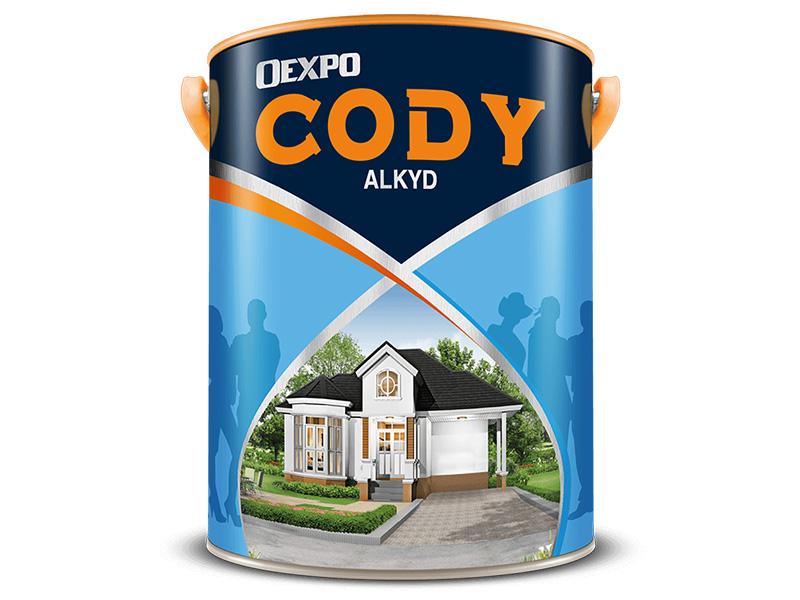 Sơn dầu cao cấp Oexpo Cody Alkyd-