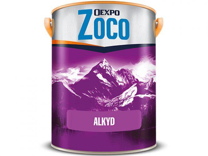 Sơn dầu cao cấp - Oexpo Zoco Alkyd