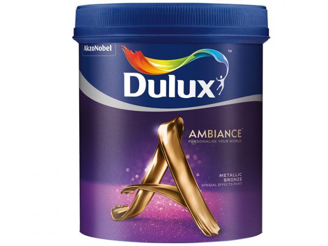 Sơn hiệu ứng đăng biệt Dulux Ambiance Special Effects Paints (Metallic Bronze)