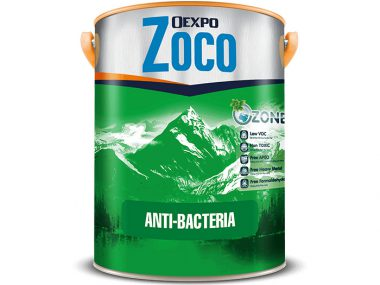 Sơn kháng khuẩn nội thất không mùi - Oexpo Zoco Anti-Bacteria