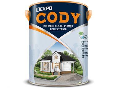 Sơn lót chống kiềm ngoại thất OEXPO CODY premier alkali primier for exterior chuyên dụng