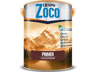 Sơn lót chống kiềm ngoại thất - Oexpo Zoco Primer For Exterior