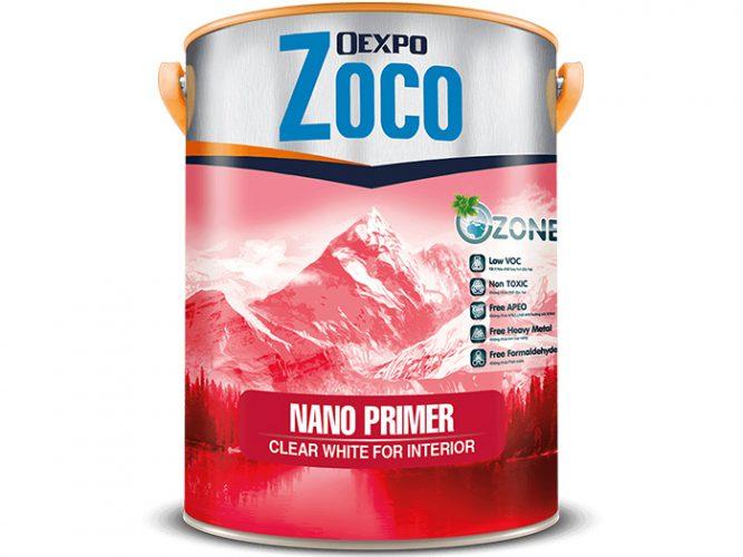 Sơn lót chuyên dụng công nghệ cao - Oexpo Zoco Nano Primer Clear White For Interior