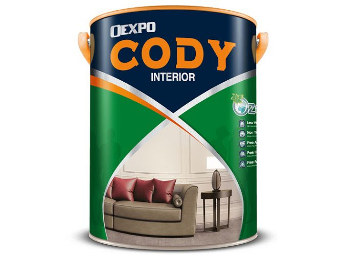 Sơn mịn nội thất cao cấp Oexpo cody interior