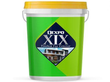 Sơn ngoại thất bóng nhẹ cao cấp Oexpo Xix Finekot For Exterior