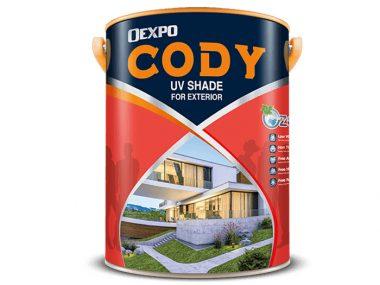Sơn ngoại thất cao cấp bóng, bền màu tối đa - Oexpo cody uv shape for exterior