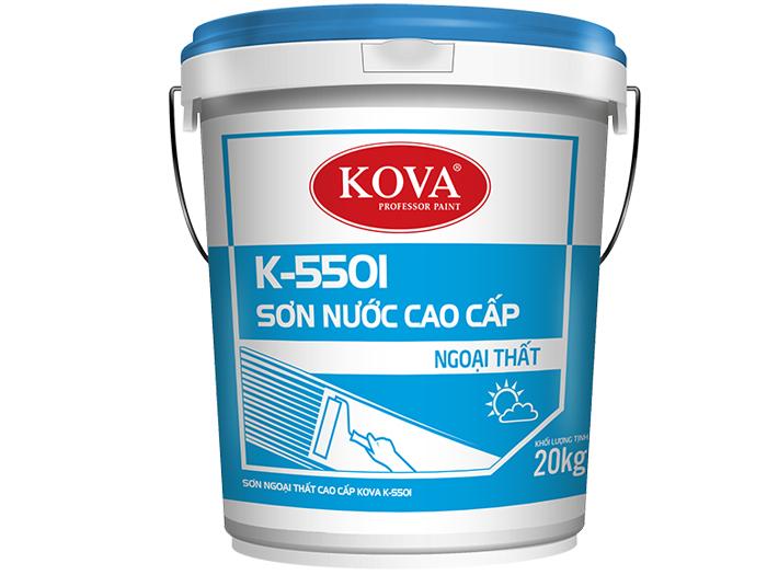 Sơn ngoại thất Kova K-5501 cao cấp