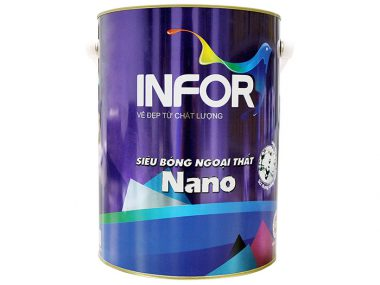 Sơn ngoại thất siêu bóng Nano