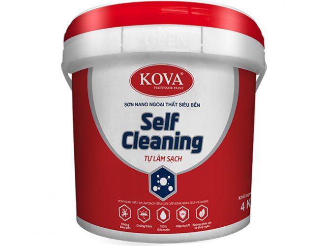 Sơn ngoại thất tự làm sạch Kova Nano Self Cleaning( Nền S, T) cao cấp