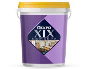 Sơn nội thất bóng nhẹ cao cấp Oexpo Xix Satin 4.0 For Interior