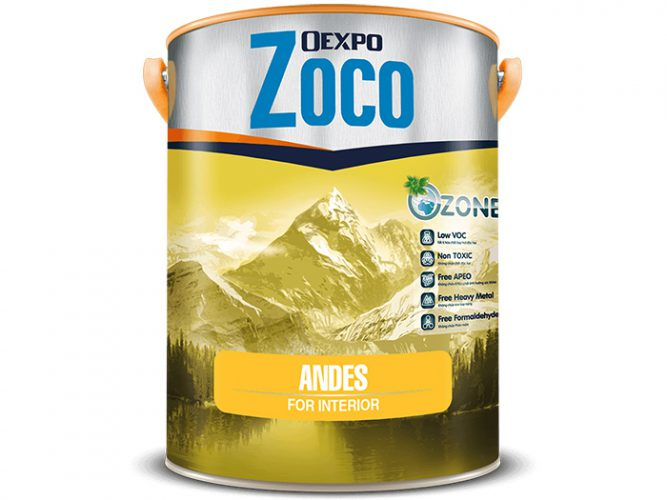 Sơn nội thất cao cấp - Oexpo Zoco Andes For Interior