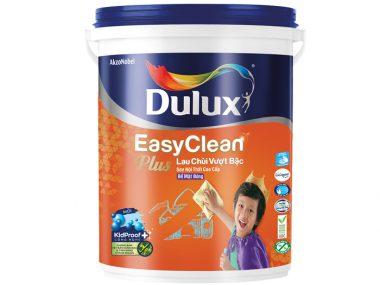 Sơn nội thất Dulux EasyClean Plus Lau Chùi Vượt Bậc Bề Mặt Bóng