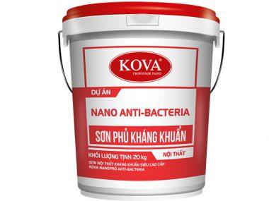 Sơn nội thất kháng khuẩn Kova Nano Anti-Bacteria siêu cao cấp