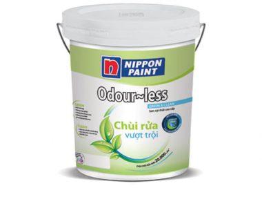 Sơn nội thất Nippon Odour-Less Chùi Rửa Vượt Trội