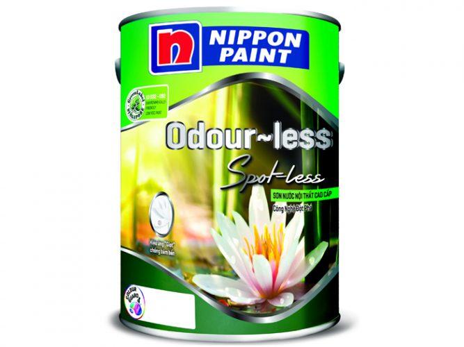 Sơn nội thất Nippon Odour-less Spot-less