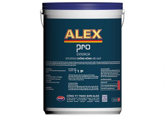 Sơn nước cao cấp ngoài trời ALEX PRO-3