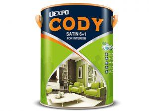 Sơn nước nội thất bóng OEXPO CODY SATIN 6+1 FOR INTERIOR