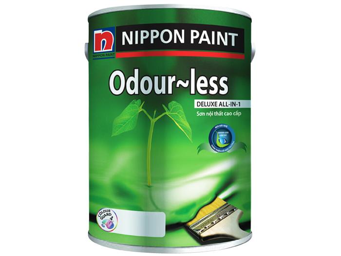 Sơn nước nội thất Nippon Odour-less Deluxe All-in-1