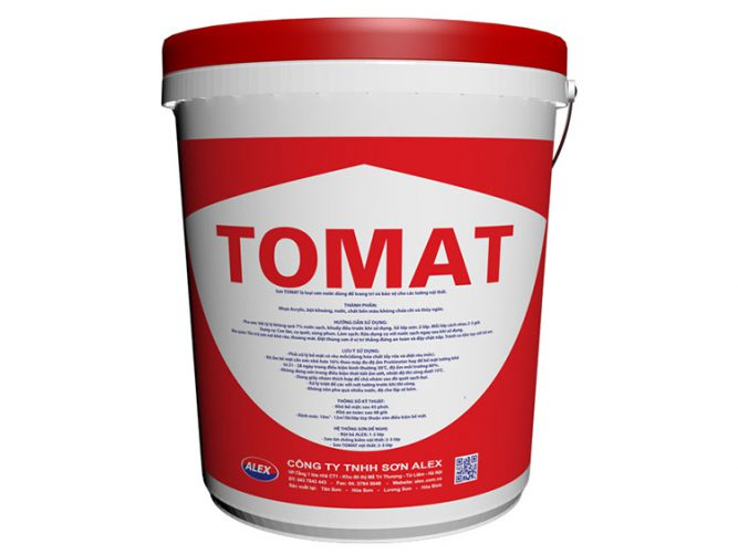 Sơn nước nội thất Tomat đỏ-1
