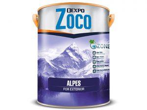 Sơn phủ bóng ngoại thất cao cấp - Oexpo Zoco Alpes For Exteriors