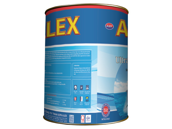 Sơn phủ ngoại thất ALEX ULTRA PRO EX-1