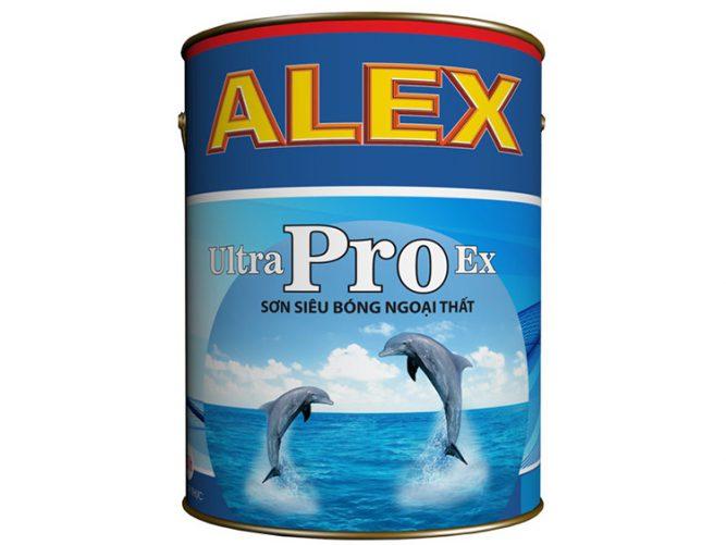 Sơn phủ ngoại thất ALEX ULTRA PRO EX