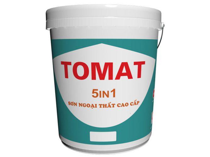 Sơn phủ ngoài trời Tomat 5 in 1