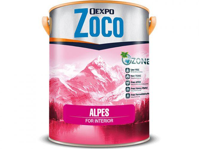 Sơn phủ nội thất bóng - Oexpo Zoco Alpes For Interior