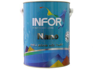 Sơn siêu nội thất bóng Nano