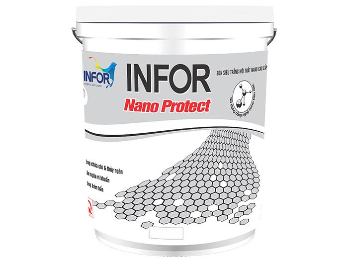 Sơn siêu trắng Nano Protect cao cấp