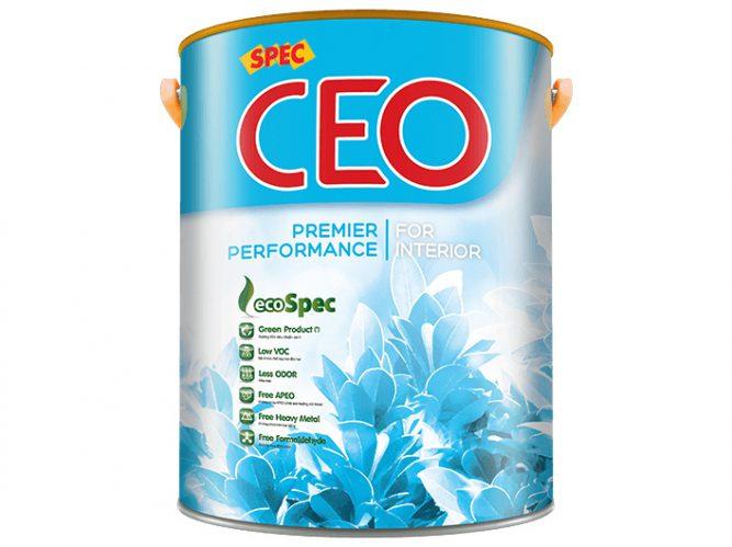 Sơn Spec Ceo Premier Performance For Interior nội thất bóng bảo vệ tối đa