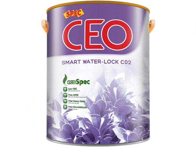 Sơn Spec Ceo Smart Water-Lock C02 chống thấm đa sắc, trực tiếp tường