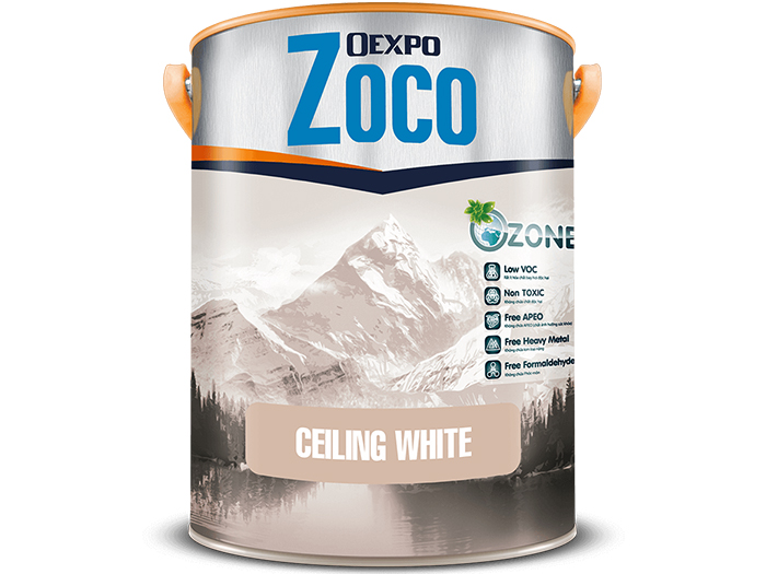 Sơn trắng trần - Oexpo Zoco Ceiling White
