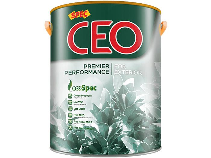 Sơn Spec Ceo Premier Performance For Exterior ngoại thất chống thấm, chống bám bẩn